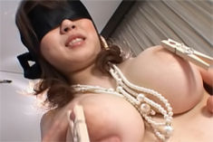 Nana Aoyama Pretty In Pink Hot Big Titted Asian Slut Is Tied Up For Some Bondage Fun
